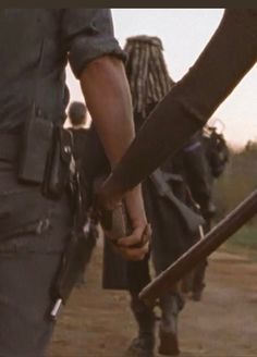 """delightfulzombe: """"Richonne is life holding hand in love going to war #richonne """""""