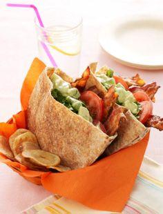 Easy lunch idea: BLT Pocket Sandwiches