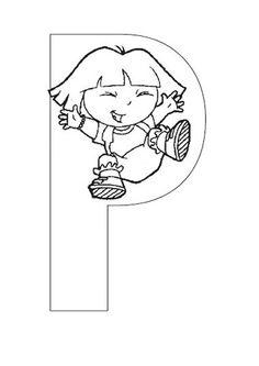 Exercices à imprimer pour les enfants. Alphabet 141