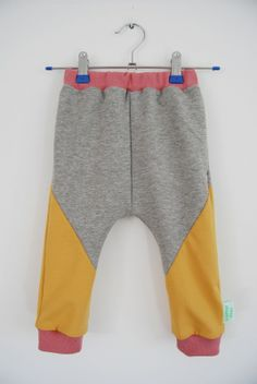 Geometric Chill Pants Baby 09. size 80/86 | new arrivals | Sloppop Yeah | UNIQUE HANDMADE KIDSWEAR
