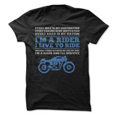 I Am A Rider I Live To Ride T Shirt, Order HERE ==> https://www.sunfrog.com/Automotive/I-am-a-rider-I-live-to-ride-tee-t-shirts.html?53624, Please tag & share with your friends who would love it , #superbowl #birthdaygifts #xmasgifts