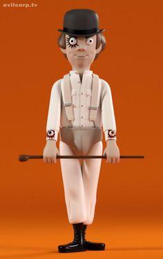 Clockwork Orange Alex by Kibooki