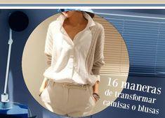 Bricomoda : 16 maneras de transformar una blusa o camisa