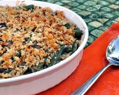 World's Best Green Bean Casserole | Other green bean casserole recipes don't taste like this one! It makes for a great Thanksgiving side dish recipe!