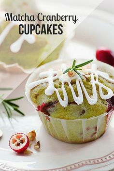 These green tea cupcakes taste like a slice of heaven. The fruity sensations of cranberry and orange work together with matcha green tea to make the perfect green tea cupcake. http://epicmatcha.com/cranberry-green-tea-cupcakes/?utm_source=pinterest&utm_medium=pin&utm_campaign=social-organic&utm_term=pinterest-followers&utm_content=blog-how-to-make-cranberry-orange-matcha-cupcakes-round-2