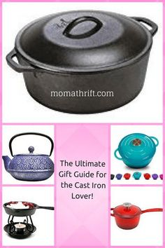 The Ultimate Gift Guidefor the Cast Iron Lover! - Moma Thrift