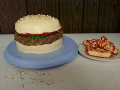My hubbies birthday cake.