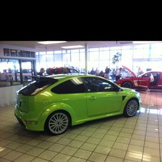 Focus RS... Not legal in the US.. But we have 1...