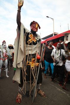 """The Artists Of Accra's Chale Wote Street Festival Interpret """"African ..."""