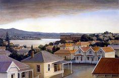 Peter Siddell » nz-artists #NewZealand #architecture @PeterSiddell #NZArt #NZpainting New Zealand Art, Nz Art, Kiwiana, Take Me Home, Landscape Paintings, The Neighbourhood, Nostalgia, Exterior, Artists