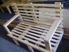 DIY Wooden Bench Design Woodworking Magazine, Woodworking Tools, Wooden Pallets, Wooden Diy, Outdoor Chairs, Outdoor Furniture, Outdoor Decor, Bench Designs, Home Workshop