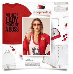 """Snapmade 2"" by smajlovicelvira ❤ liked on Polyvore featuring Hollister Co., MICHAEL Michael Kors, Topshop, Context, snapmade, SNAPMADEcontest and snapmadeproducts"