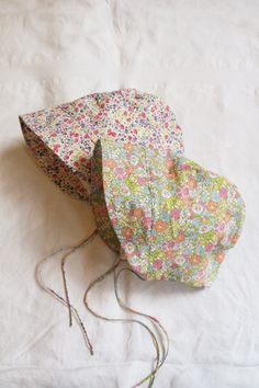 Floral summer bonnet - Makie