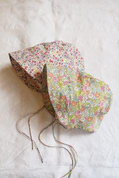 Floral summer bonnet - Makie