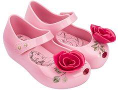 Mini Melissa Pink Beauty and The Beast | Mini Melissa A Bela e a Fera Rosa