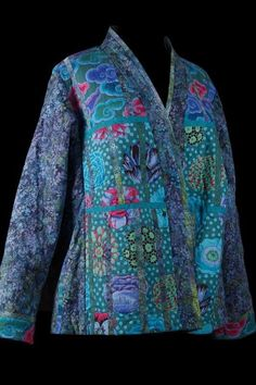 Susie's Quilted Fassett - front