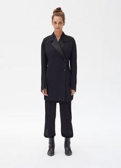 Céline - Double-breasted jacket in sheer wool