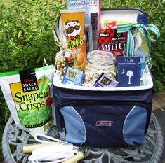 Vacation gift basket for my boyfriend!   Gifts   Pinterest ...