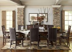Dining Rooms, Arden Ridge Trestle Table, Dining Rooms | Havertys Furniture