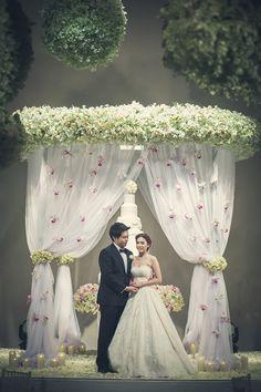 together wedding studio wedding pinterest studio wuttillert and natthas luxurious flora filled bangkok wedding junglespirit Images