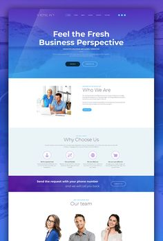 40 best business website templates images on pinterest business business startup template responsive website wajeb Image collections