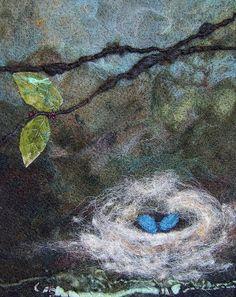 #734 Nest Too by Deebs Fiber Arts, via Flickr