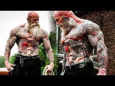 Workout Monster? Old Tattooed Bodybuilder | Motivational Video 2017 - YouTube