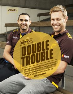 2014 AFL Record Round 6 | Hawthorn FCs Burgoyne & MItchell | Publication Feature