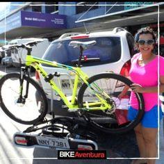 #instagram @bikeaventura Mais uma cliente satisfeita com a qualidade encontrada na Bike Aventura.  #bike #pedal #mtb #cycling #bicycle #ciclismo #bici #pedalar #vadebike #instabike #natal #rn #cycles #mountainbike https://instagram.com/p/5R-0LSPG1_/ // my instagram https://instagram.com/wolkanca