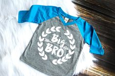 Big Brother Shirt Little Brother Shirt by HauteBelliesShop on Etsy