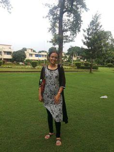 Jaspreet Kaur looks pretty in this W wear.