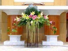 성전꽃꽂이 꽃 꽃꽂이 교회꽃꽂이 꽃장식 유성감리교회 꽃스타그램