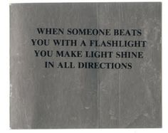 Jenny Holzer, stickers from the Survival series (1983–85)