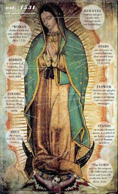 Our Lady of Guadalupe (December 12)