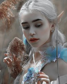 Photo by agnieszka_lorek in her fairytale dimension. My fantasy portrait with model💕in costume from 🧚🏻♀️ Anime Art Fantasy, Fantasy Girl, Elfen Fantasy, Foto Fantasy, Fantasy Forest, Fantasy Makeup, Fantasy Model, Sublime Creature, Elfa