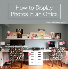 How to display photos in an office
