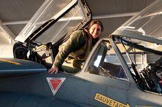 Piloto filha de brasileiros faz a diferença em base da Força Aérea dos EUA