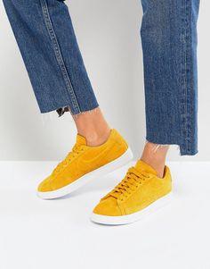 best sneakers 127dc 1ba7d Nike Blazer Low Mustard Suede Trainers