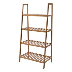 Breakwater Bay This shelving unit is ideal for use in bathrooms to hold towels and toiletries or in the bedroom or lounge to hold books and accessories. Made from strong bamboo, it is both a stylish and practical addition to the home. Cheap Shelving Units, Shelving Racks, Garage Shelving, Drawer Shelves, Shelving Systems, Wire Shelving, Riga, Bamboo Shelf, Lets Stay Home