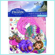 cool Disney Frozen Birthday Favor Set