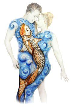 Koi My World, Koi, Body Art, My Arts, Design, Body Jewelry