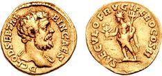 Aureus de Clodius Albinus datant de 194, 7,22 g
