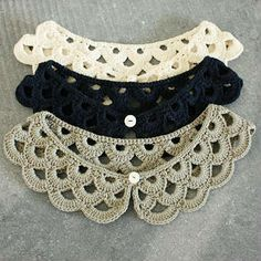 Crochet collar KIT