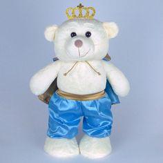 Urso De Pelúcia Principe em Pé G