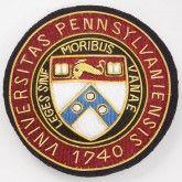 J. Press University of Pennsylvania Badge