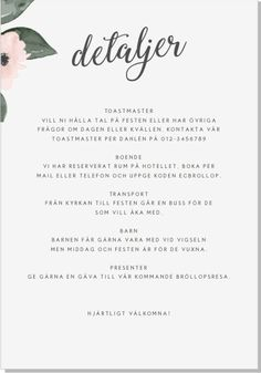Baksida Wedding Programs, Wedding Tips, Wedding Engagement, Diy Wedding, Dream Wedding, Wedding Invitation Cards, Wedding Stationery, Wedding Cards, Invite