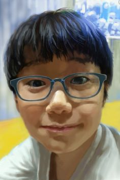 """""""mischievous boy"""" ap: sketchbook mobile in iphone"""