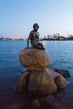 The Little Mermaid (Den Lille Havfrue), Copenhagen, Denmark