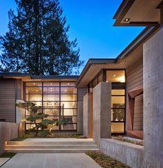 Casa Washington Park http://www.arquitexs.com/2011/10/casa-de-hormigon-acero-y-madera.html