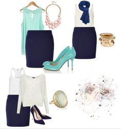 navy blue skirt!!!